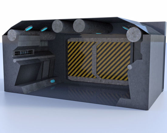 Picture of Modular Sci-Fi Corridor Environment Poser Format