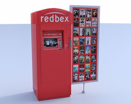 Picture of Movie Rental Vending Machine Model FBX Format