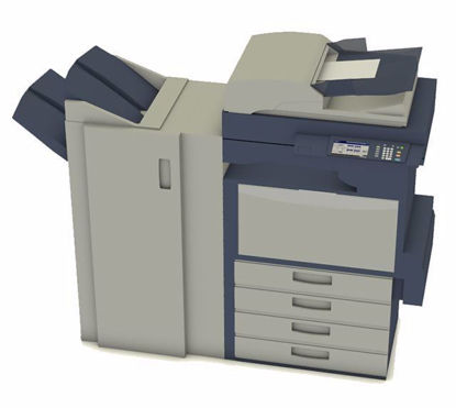 Picture of Office Copier Machine Model FBX Format