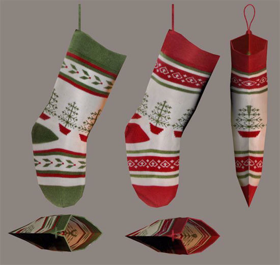 Picture of Christmas Stocking Models Poser Format