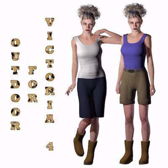 Picture of Outdoor Clothing Set for DAZ Victoria 4