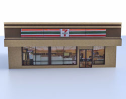 Convenience Store Model Poser Format