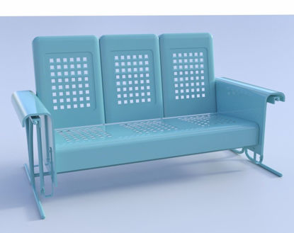 Picture of Porch Glider Model Poser Format