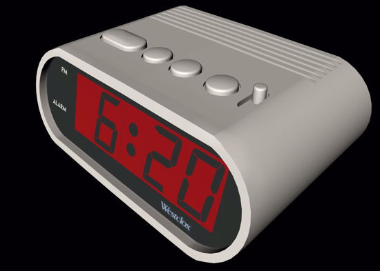 Picture of Digital Clock Model FBX Format