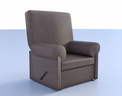 Picture of Recliner Chair Model Poser Format