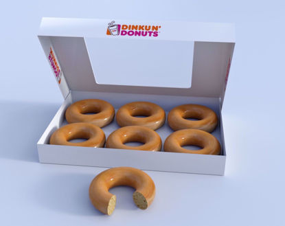 Picture of Donuts and Box Models Poser Format