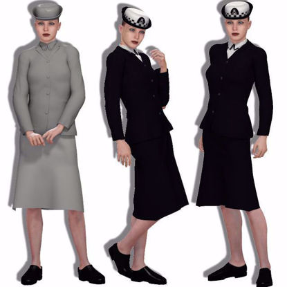 Picture of Early 70's WPC Outfit for DAZ Victoria 4