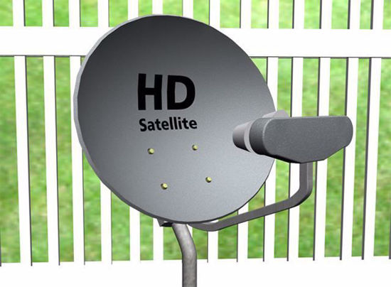 Picture of Satellite Dish Models Poser Format