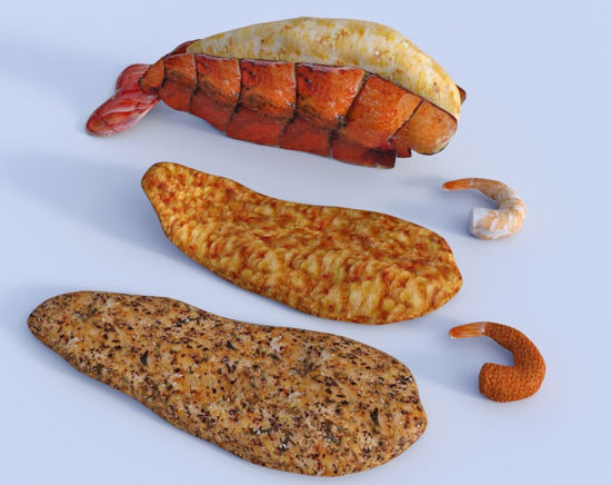 Picture of Seafood Models Poser Format