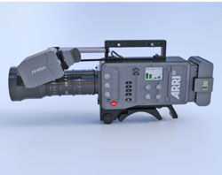 Shoulder Mount Movie Camera Model FBX Format