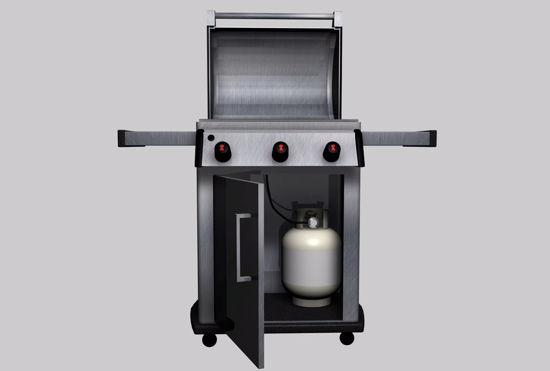 Picture of Gas Grill Model Poser Format
