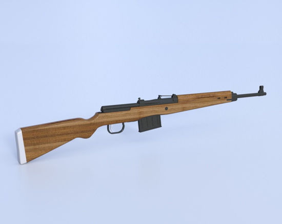 Picture of German Gewehr 43 Rifle Model Poser Format