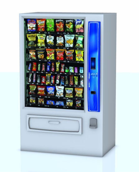 Picture of Snack Vending Machine Model FBX Format