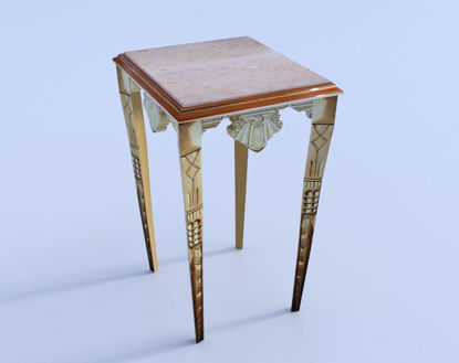 Picture of Gilded Art Deco Table Model Poser Format
