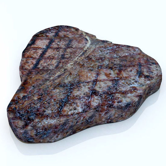 Picture of T-Bone Steak Model Poser Format
