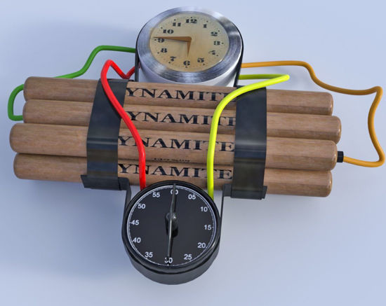 Picture of Time Bomb Model Poser Format