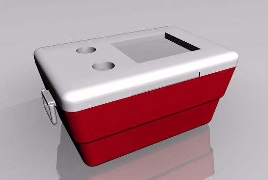 Picture of Ice Chest Cooler Model FBX Format