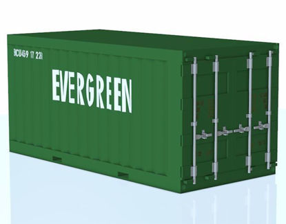 Picture of Industrial Shipping Container Model Poser Format