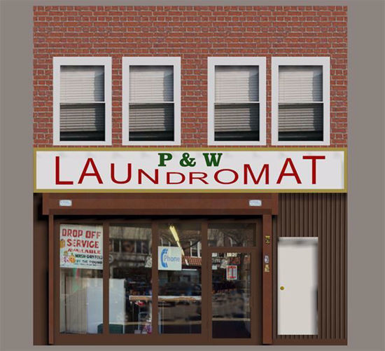 Picture of Laundromat Model Poser Format