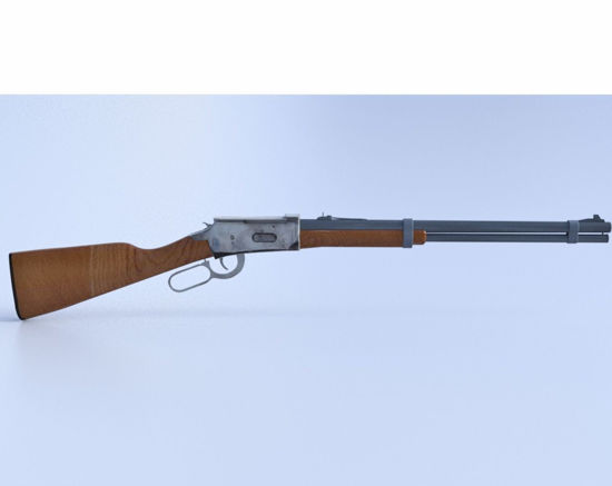 Picture of Winchester 30-30 Rifle Model Poser Format