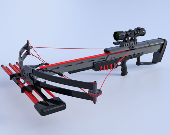 Picture of Modern Crossbow Model Poser Format