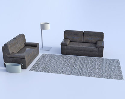 Picture of Modern Furniture Models Poser Format
