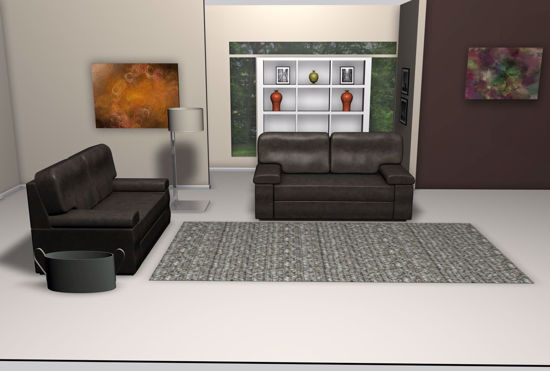 Picture of Modern Living Room Environment FBX Format