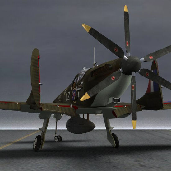 Picture of Supermarine SkyFury Mk1 - SciFi RAF aircraft for Poser