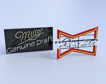 Picture of Neon Beer Sign Models FBX Format