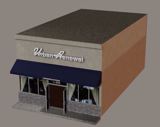 Picture of Retail Store Model Poser Format