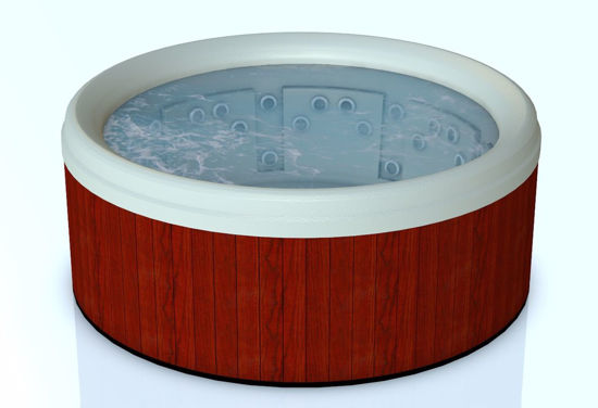 Picture of Round Hot Tub Model Poser Format