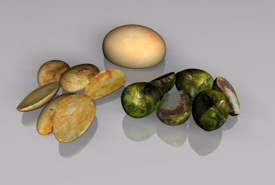 Picture of Side Dish Food Models (Set 2) FBX Format