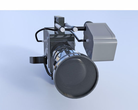 Picture of Shoulder Mount Movie Camera Model Poser Format