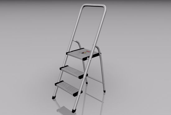 Picture of Step Ladder Model FBX Format