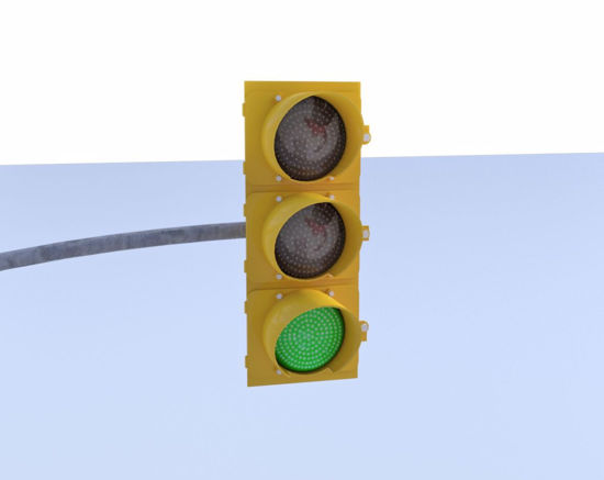 Picture of Traffic Light Models Poser Format