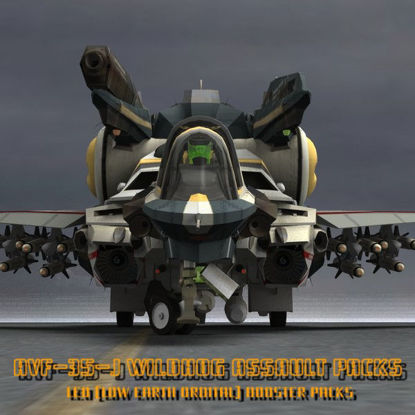 AVF-35-J Wildhog Assault Booster Set (for Poser)