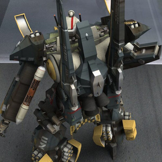 AVF-35-J Reactive Armour Add-On for Poser figure