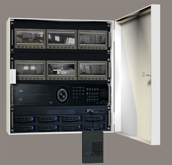 Picture of Video Security Cabinet and Handheld Looper Gadget Models