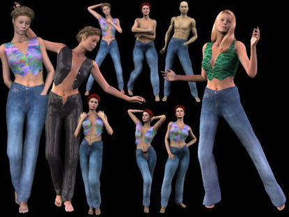 Picture of Morphing jeans for Vicky 3