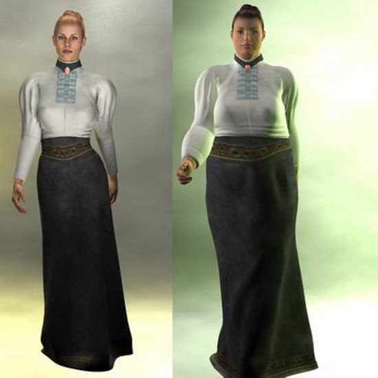 Picture of Victorian Day Wear V3