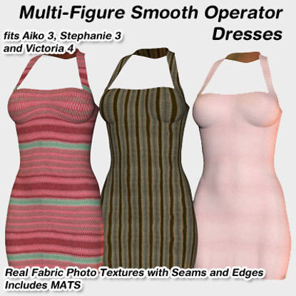 Picture of Smooth Operator Dresses For Multiple Figures - August 2010 Edition : MF-SO-August2010