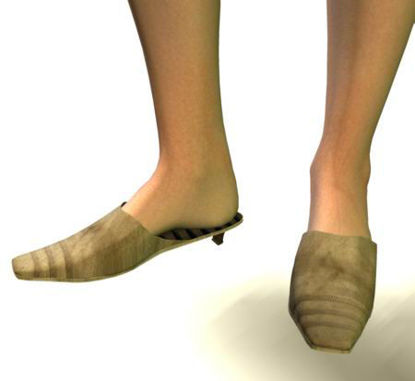 Picture of Square toe mules-SP3