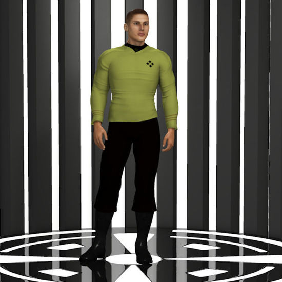Picture of Space Fleet Officer for Dusk :Dusk