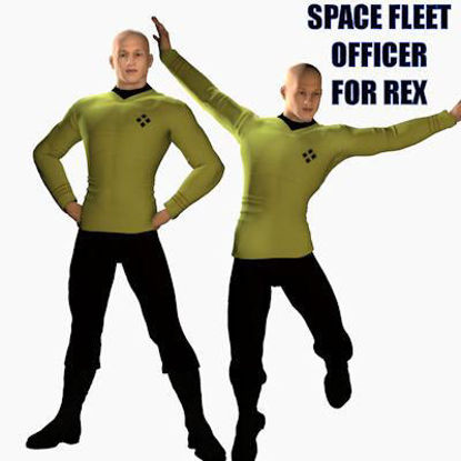 Picture of Space Fleet Officer for Rex - Poser Rex