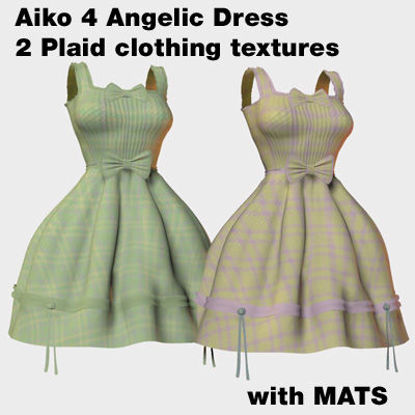 Picture of Aiko 4 Plaid Angelic Dress Clothing Texture Variations