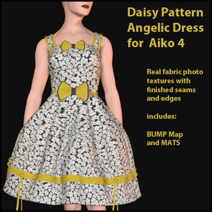 Picture of Daisy Pattern Angelic Dress for Aiko 4