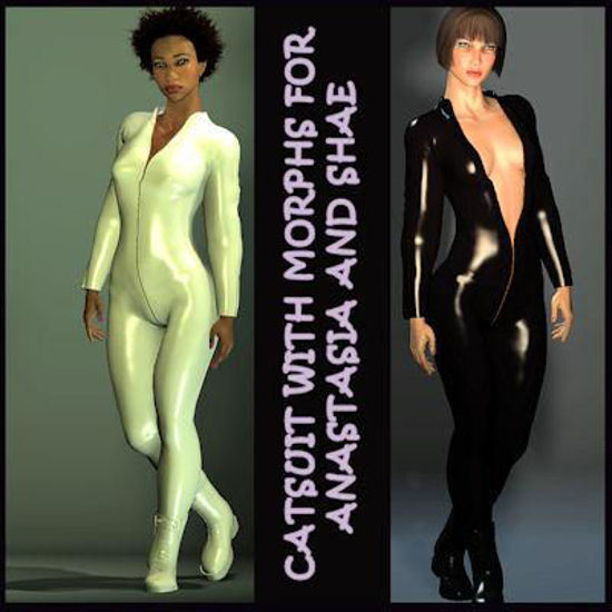 Picture of Catsuit and boots for Anastasia and Shae