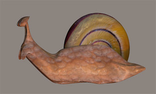 Picture of Dubby the Cartoon Garden Snail