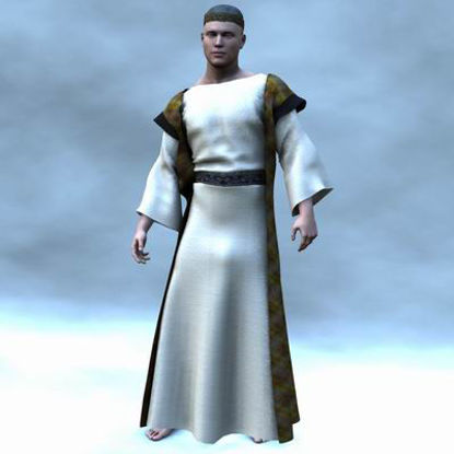 Picture of Biblical Merchant for Luke - Poser  / DAZ3D ( Luke )
