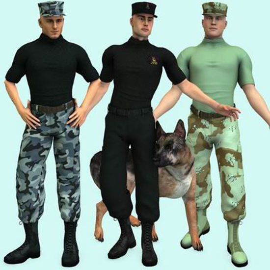 Picture of US Military Set 1 :g2male